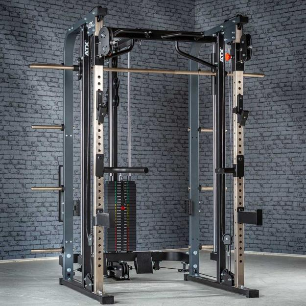 ATX® Smith Cable Rack 680 - Multigimnasio - Con columna de pesos