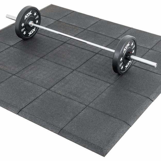 Placas de caucho y pavimentos material de entrenamiento - Suelos para gimnasios ...
