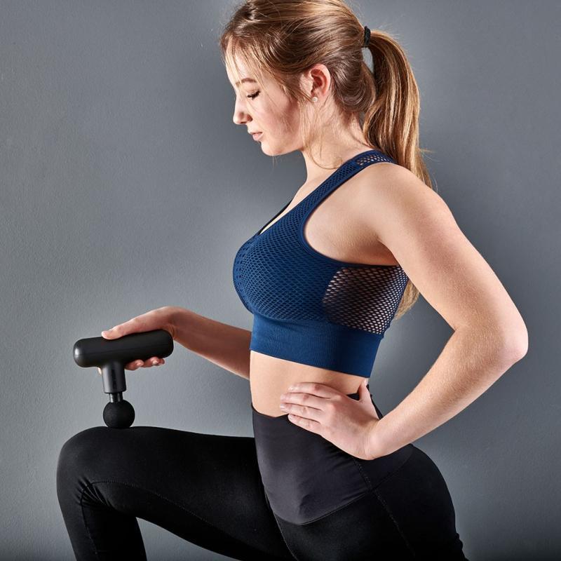 Mini Massage Gun - Pistola de masaje por vibración