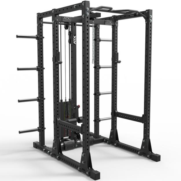 ATX® POWER RACK 750 - SET 280 - Jaula de potencia con estación de poleas PRO