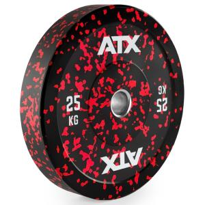 ATX® Discos Bumper, 50mm, color splash - 5 a 25 kg.