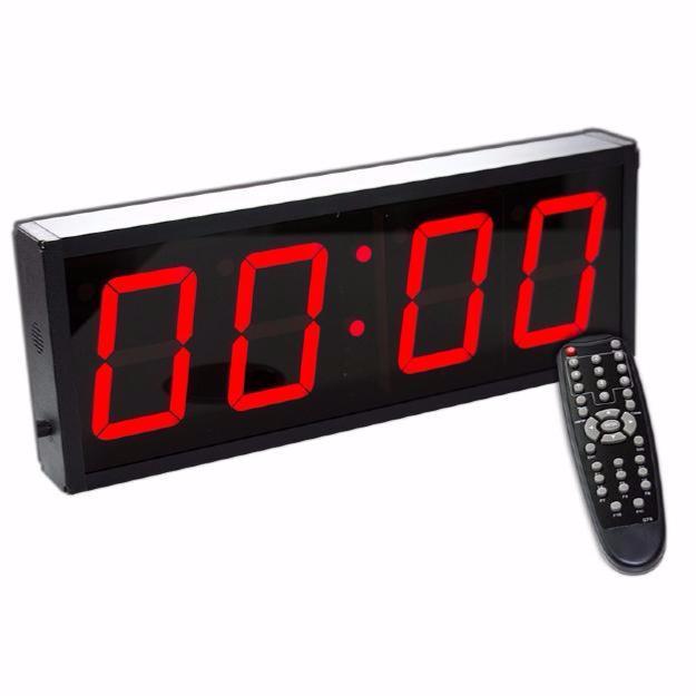873ad0ccee94 Timer Reloj digital de pared con cronómetro para gimnasio - carcasa de  aluminio