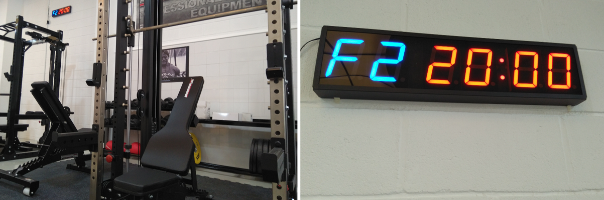 nuevo producto 62580 c56d3 Reloj Cronometro de pared para Gimnasios