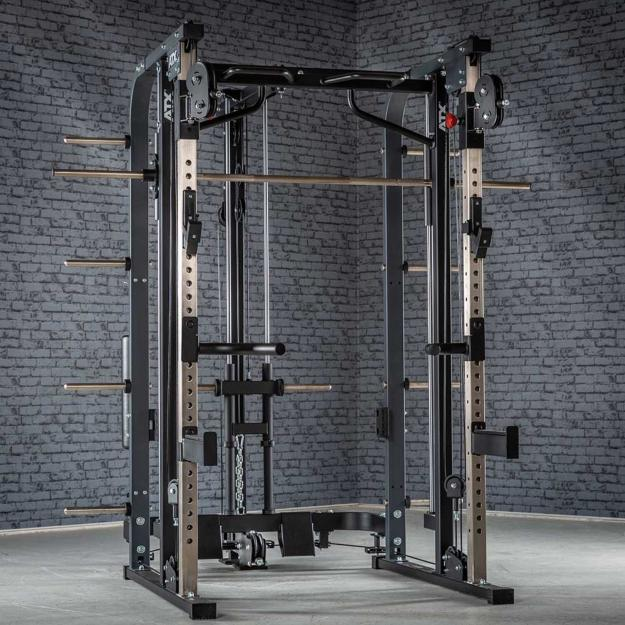 ATX® Smith Cable Rack 680 - Multigimnasio - Carga con discos