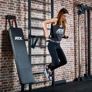 ATX® Wall Bar Gym 500 - Barras de inmersión