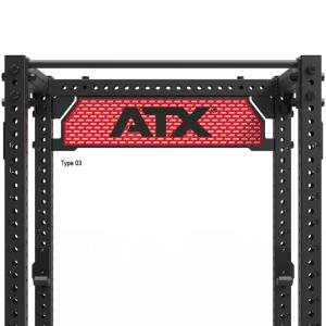 ATX® Placa de logotipo para Power Racks - Serie 800 - También disponible con su propio Logo