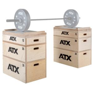 ATX® BLOCK SET - estantes de madera para peso pesado - Made in Germany