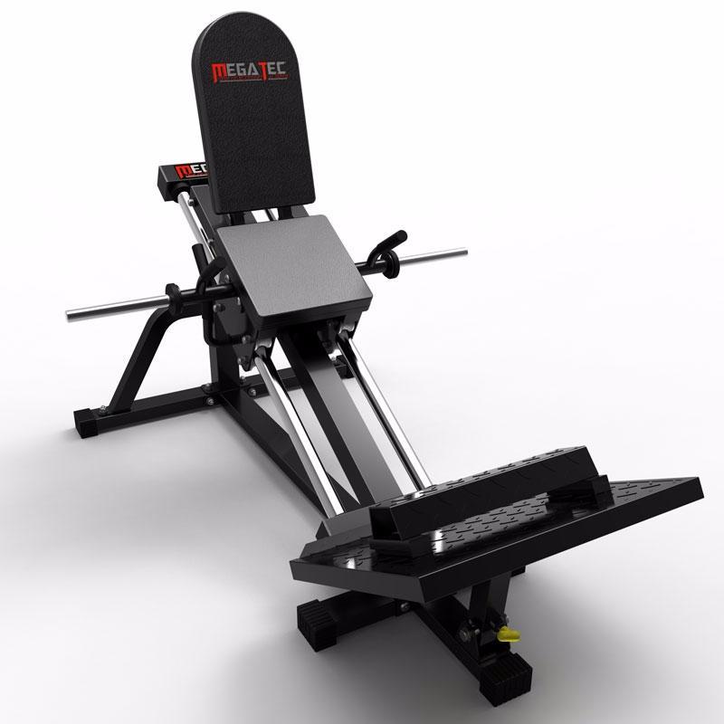 M quina de musculaci n trineo para press de piernas megatec for Maquinas de musculacion