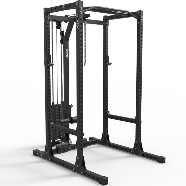 ATX® POWER RACK estación completa - 650 - con estación de poleas 115 kg