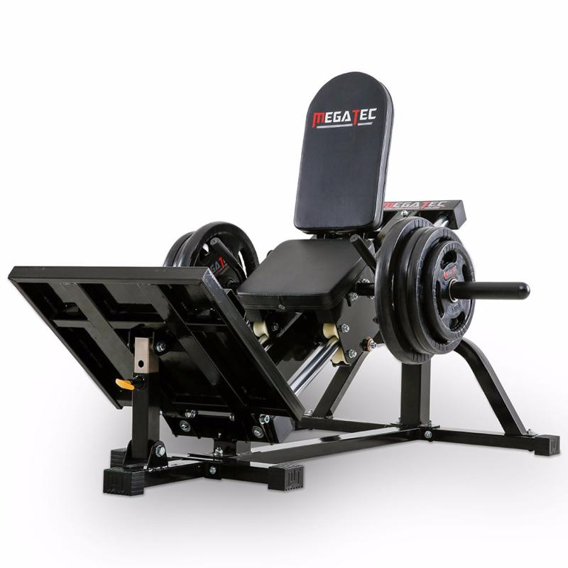 M quina de musculaci n press de piernas megatec compact for Maquinas de musculacion