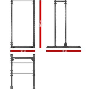 ATX® Half Rack 810 + EXTENSION 800 - F