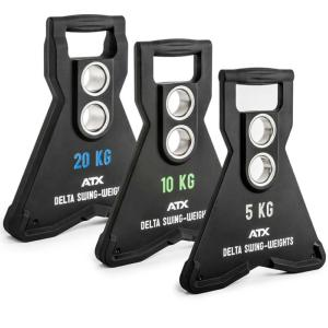 ATX® Delta Swing-Weights - Placas de peso dinámico swing con 2 orificios