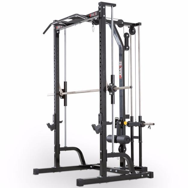 Megatec l der en maquinas de musculacion para entrenar en for Poleas para gimnasio
