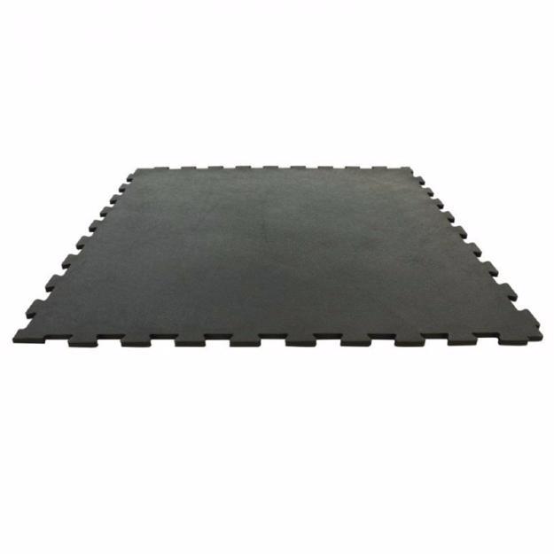 Suelo de caucho vulcanizado tipo puzzle 1x1m - Suelo de caucho ...