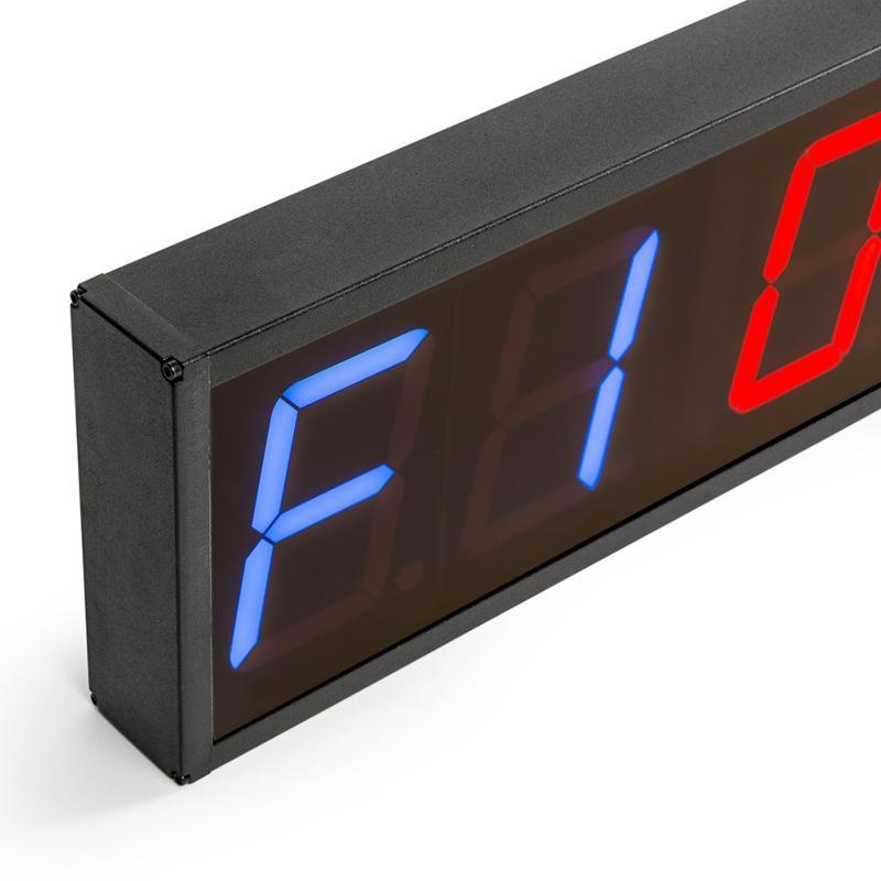 nuevo estilo 57514 dc5cc Timer Reloj digital de pared con cronómetro para gimnasio de 6 dígitos