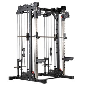 ATX® Multigimnasio profesional - Smith Cable Rack 760 - carga con discos
